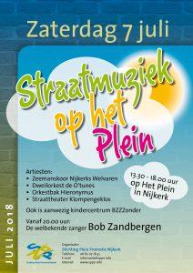 Straatmuziek op het Plein @ Centrum   Nijkerk   Gelderland   Nederland